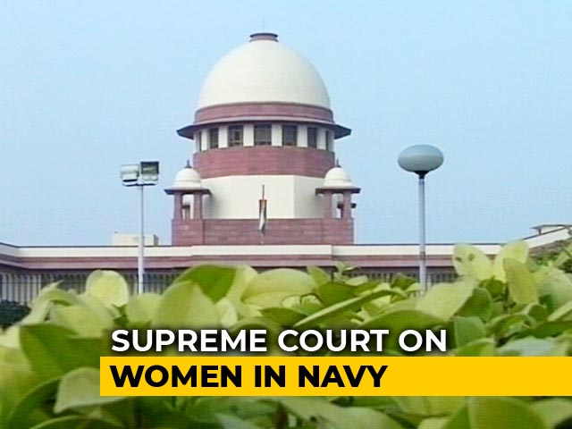 "Video : ""Women Officers Can Sail As Efficiently As Male Officers"": Supreme Court's Big Verdict"