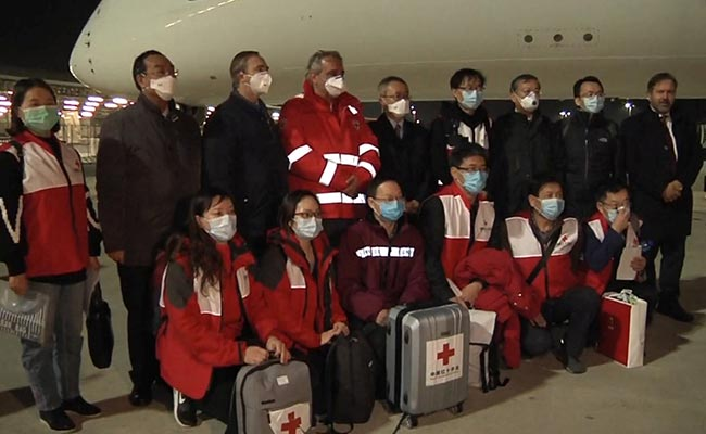 China Sends Medical Supplies, Experts To Help Italy Battle Coronavirus
