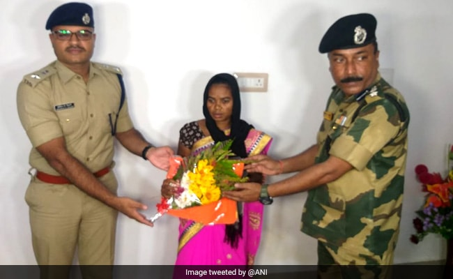 Female Maoist Involved In Several Cases Surrenders In Odisha