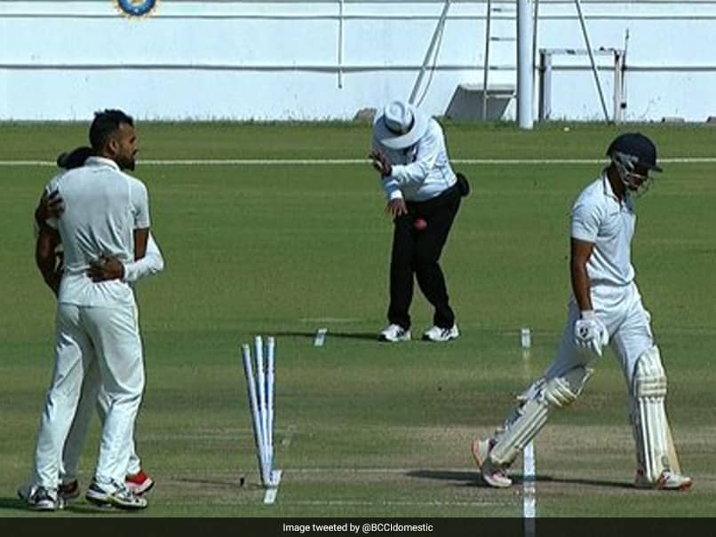 Ranji Trophy Final: Umpire Hit On Abdomen, Ruled Out Of Saurashtra-Bengal Summit Clash
