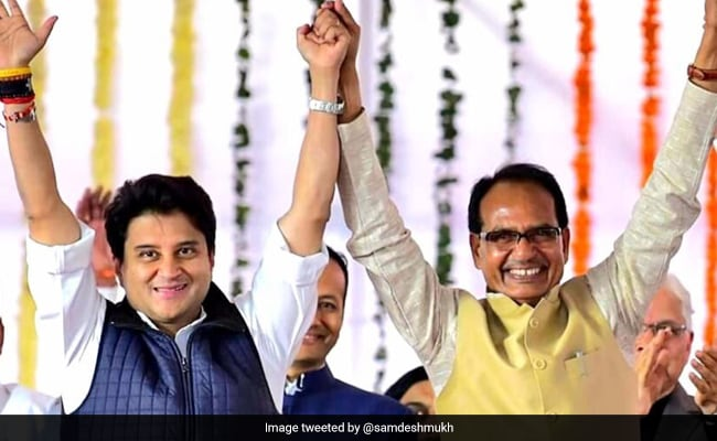 Scindia Family Toppled Congress Governments Twice: Shivraj Chouhan