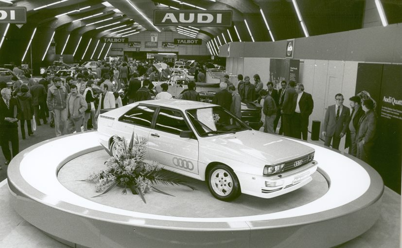Audi Has Sold 10.5 Million quattro Vehicles In Last 40 Years