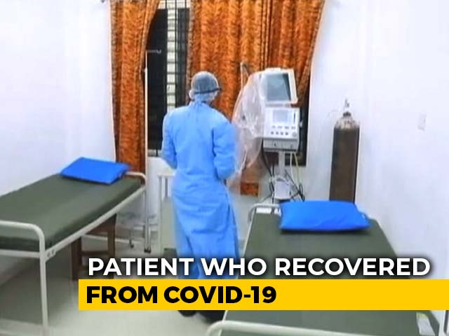 "Video : ""No Need To Be Scared"": Delhi's First Coronavirus Patient, Now Recovered"