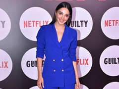 Kiara Advani Steals The Limelight In A Royal Blue Pantsuit