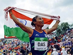 Hima Das Pledges To Donate One Months Salary In Fight Against Coronavirus