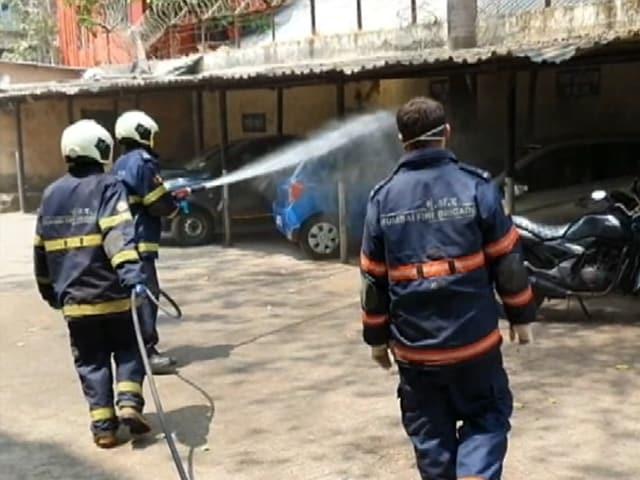 Video : Mumbai Civic Body BMC Launches Sanitisation Drive Amid COVID-19 Outbreak