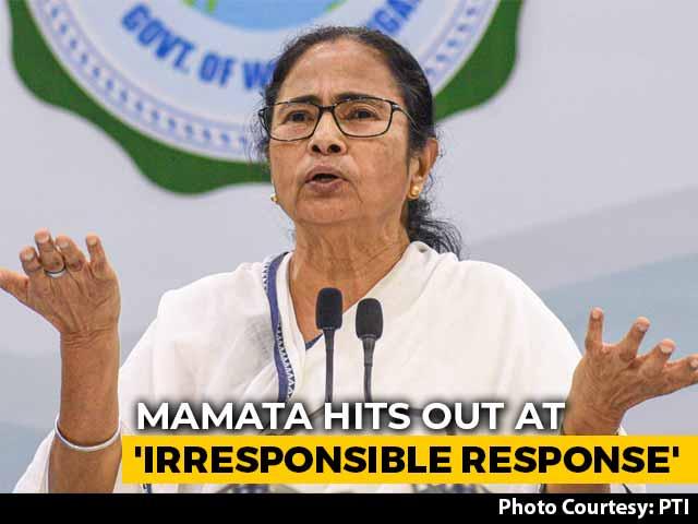 "Video : ""Can't Claim VIP Status, Avoid COVID-19 Test"": Mamata Banerjee Slams Teen"