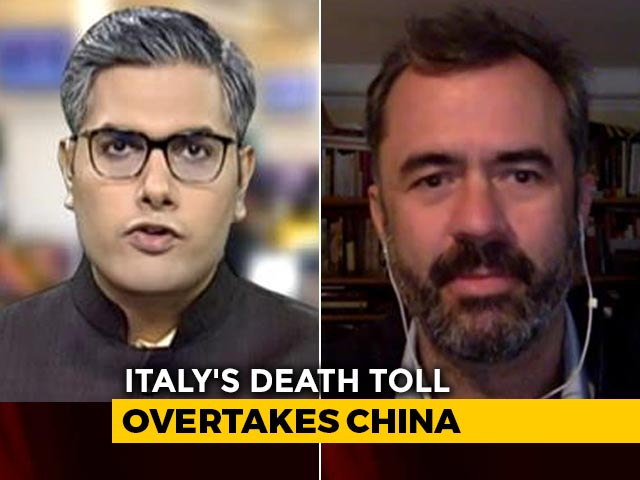 Video : Italy Surpasses China In Number Of Coronavirus Deaths