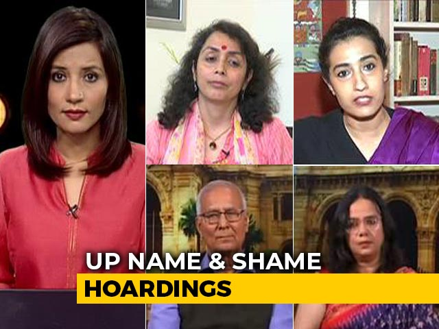 "Video : ""Name And Shame"" Hoardings: Allahabad High Court Reserves Order"