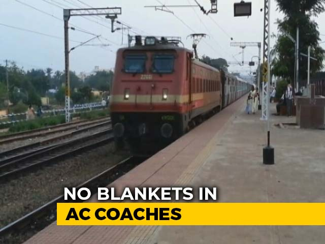 Video : No Blankets In AC Coaches Of Central, Western Railway Amid Virus Scare
