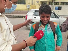 """Want To Go Home"": Boy Weeps At Deserted Delhi Bus Station Amid Lockdown"