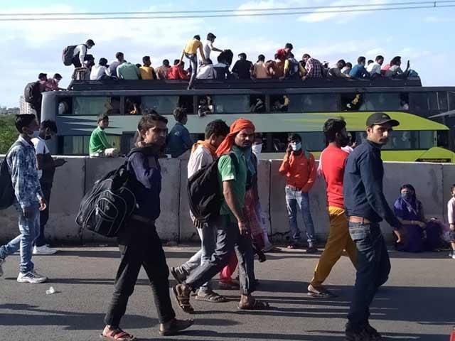 प्रवासी मजदूरों को लेकर कांग्रेस ने PM मोदी पर साधा निशाना, कही यह बात…