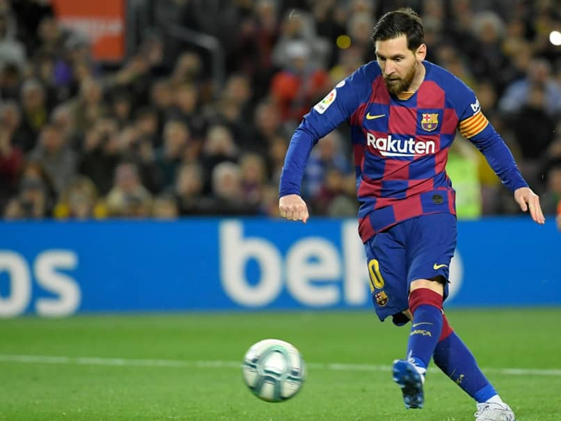 "Lionel Messi Looking Forward Eagerly To ""Weird"" La Liga Restart"