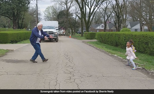 Grandpa's Dance-Off With Granddaughter Is The Cutest Thing Ever. Watch