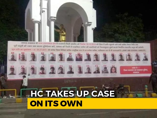 "Video : After Remark On Privacy, UP Top Court Order On ""Shame"" Hoardings Tomorrow"