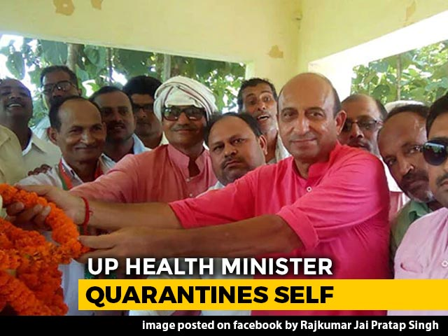 "Video : ""Guests Asked To Self-Isolate"": UP Minister On Virus Scare After Party"