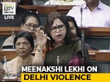 "Video : ""Some Judges Think Cops Shouldn't Act Until Protesters Turn Violent"": Meenakshi Lekhi"