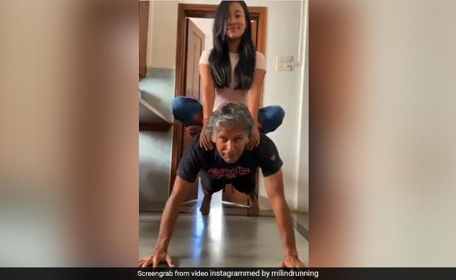 Warning: Don't Try This At Home Unless You Are Milind Soman