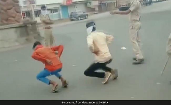 Lockdown: राजस्थान में 'कर्फ्यू' तोड़ने वालों को पुलिस इस तरह सजा देती आई नजर, देखें Video...