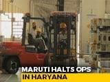 Video : Maruti Suzuki Suspends Production At Gurgaon & Manesar Plants