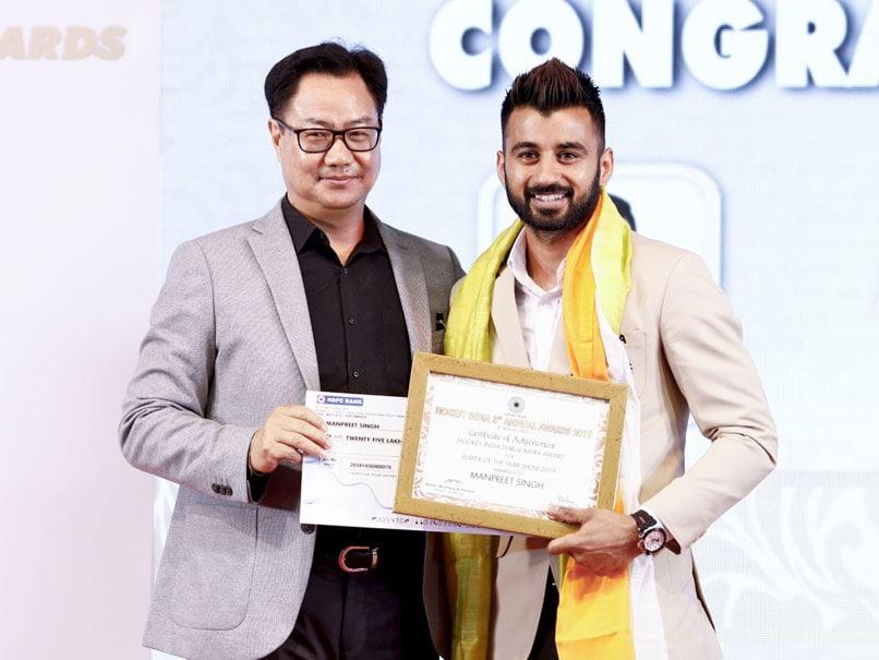 Hockey India Annual Awards: Manpreet Singh, Rani Rampal Bag Player Of Year Awards
