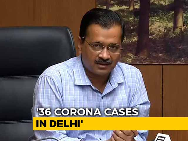 """Video : """"Mohalla Clinics Will Stay Open"""": Arvind Kejriwal On Corona+ve Doctor"""