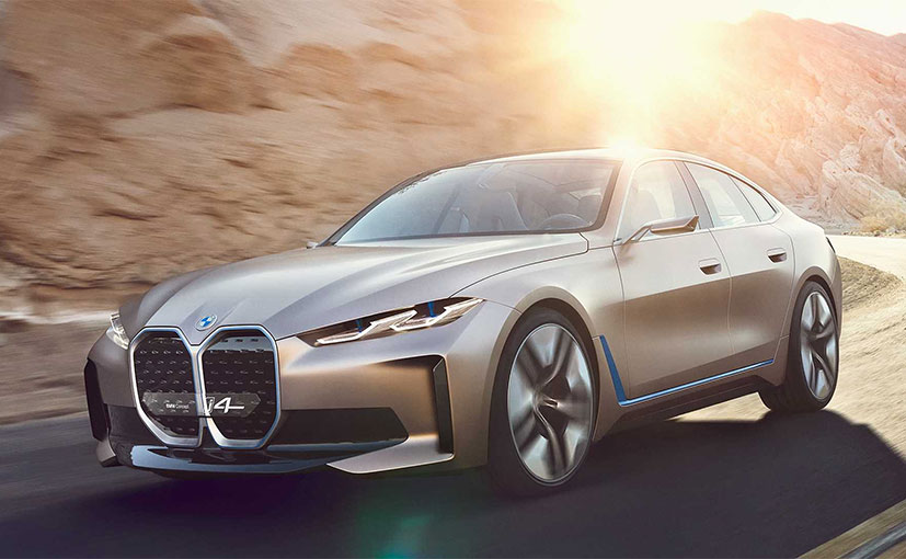 BMW reveals near-production Concept i4 electric Gran Coupe