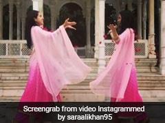 सारा अली खान ने बनारस में कुछ इस अंदाज में खेली होली, Video हुआ वायरल