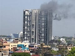 Fire At 16th Floor Of Kolkata Apartment, 10 Fire Engines On Spot