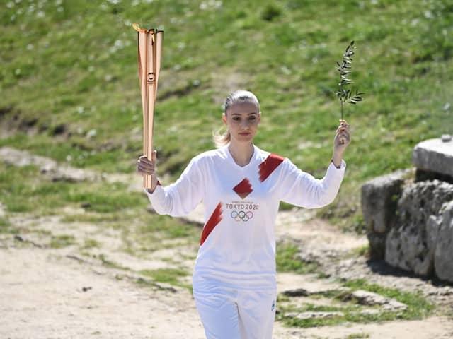 Coronavirus: Tokyo Olympic Flame Lit In Greece Amid Virus Lockdown