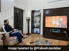Trolled, Minister Deletes Tweet Watching <i>Ramayan</i>, Posts New Photo