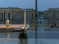 "Pope Francis Faces Coronavirus ""Tempest"" Alone At Vatican City Square"