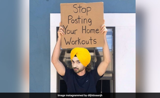 "Stop Posting Home Workouts"": We're With Diljit Dosanjh On This One"