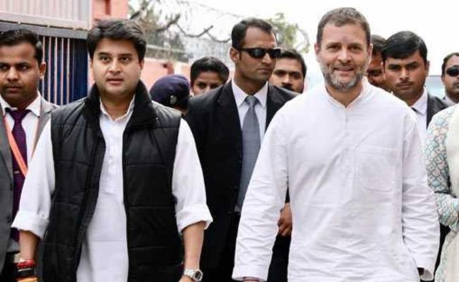 "Jyotiraditya Scindia Old Friend, Ideology In His Pocket"": Rahul Gandhi"