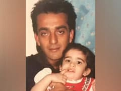 Seen Trishala's Priceless Throwback Pic With Dad Sanjay Dutt?