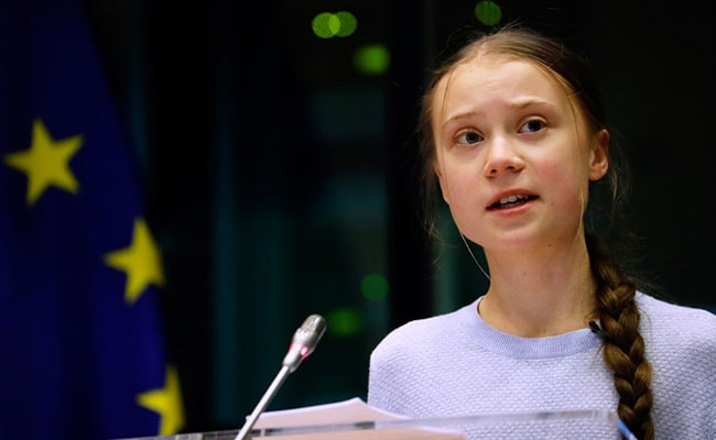 Climate Activist Greta Thunberg Urges US Voters To Pick Joe Biden