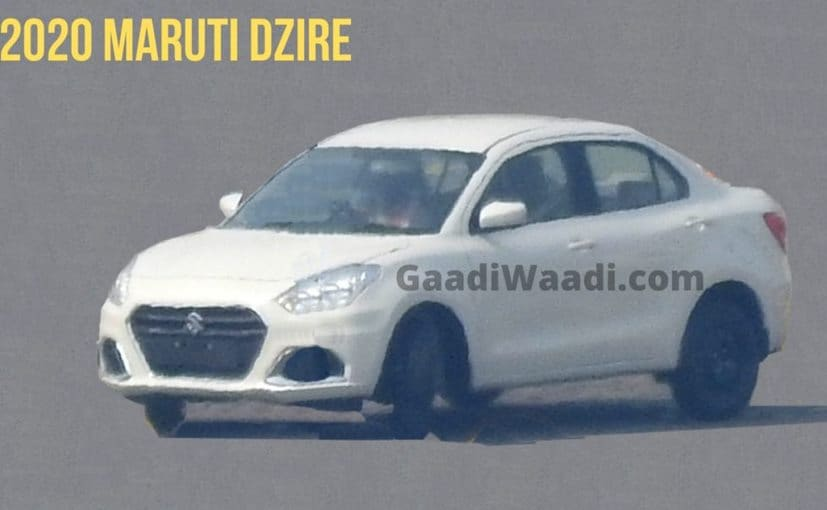 The Maruti Suzuki Dzire facelift gets a new, larger single-frame hexagonal grille and a new front bumper