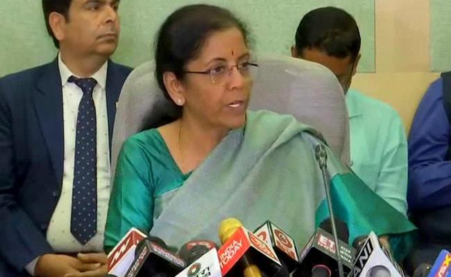 TDS, TCS Reduced By 25%, Says Nirmala Sitharaman