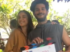 "<I>Hey Sinamika</i>: Aditi Rao Hydari And Dulquer Salmaan Are ""All Smiles"" For ""New Beginnings"""