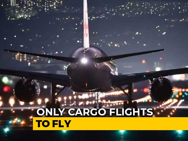 Video : No Domestic Flights From Wednesday, Says Centre Amid Coronavirus Crisis