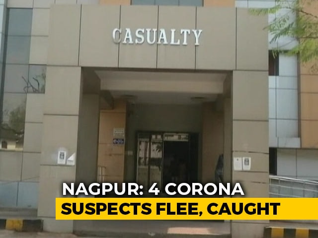 Video : 4 With Suspected Coronavirus Leave Nagpur Hospital Without Informing