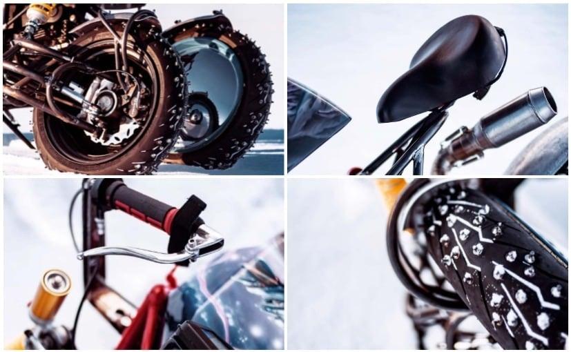 Ducati Hypermotard Based Futuristic Ice Racer Revealed