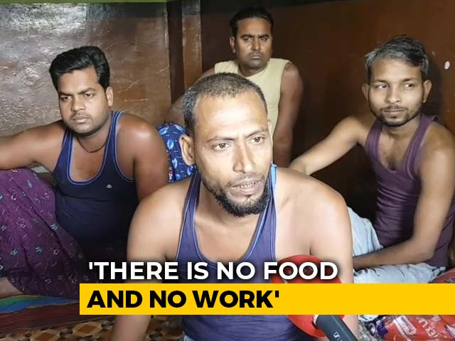 Video : 6 Lakh Powerloom Workers In Maharashtra Town Stuck With No Food Or Work