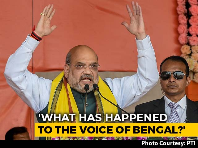 Video : In Bengal Campaign Launch, Amit Shah Uses CAA To Target Mamata Banerjee