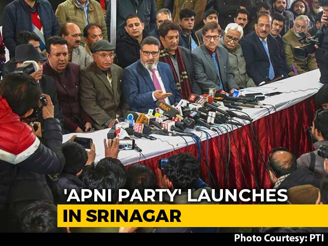 Video : Altaf Bukhari Launches New Party In J&K, Special Status Not On Agenda