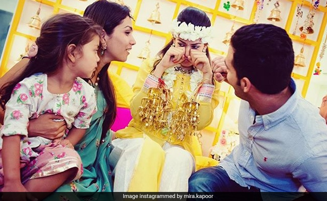 Mira Rajput Is Missing This 'Bittersweet' Moment From Her Wedding Festivities