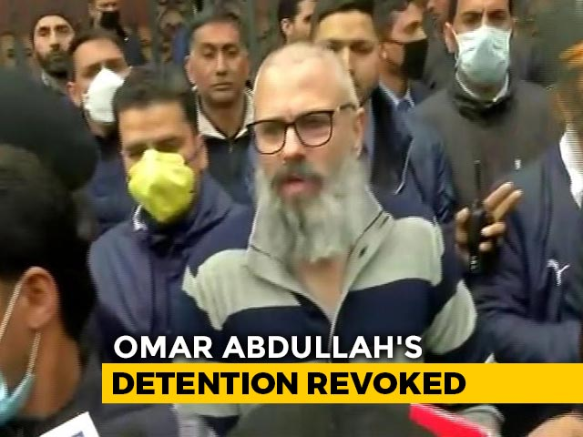 Video : Omar Abdullah Released After Nearly 8 Months In Detention In Kashmir
