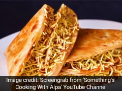 Lockdown Cooking: Make This Yummy Roti Taco For A Quick Quarantine Snack
