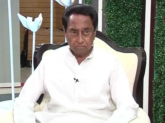 Video : Ready For No-Trust Vote, Says Kamal Nath After Meeting Governor