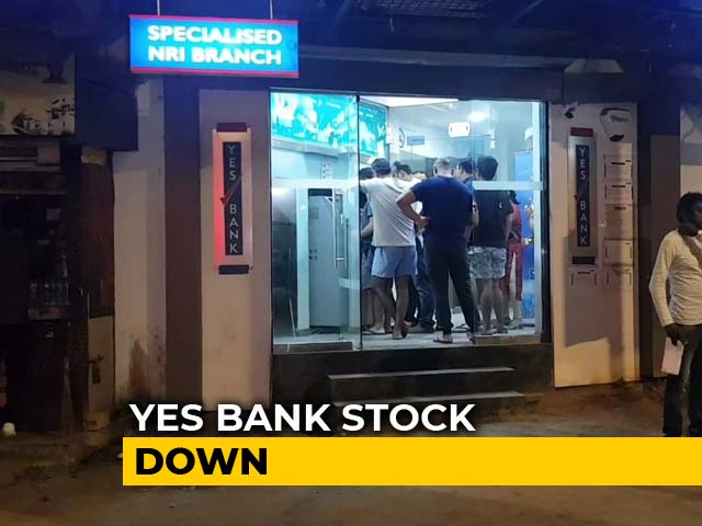 Video : Yes Bank Shares Crash After RBI Places It Under Moratorium